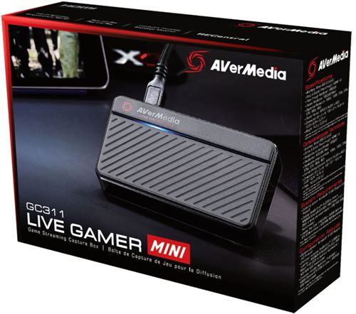 Avermedia GC311 Full HD Recording Live Gamer Mini Game Streaming Plug and Play Capture Card