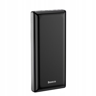 Baseus Mini JA PPJAN-C01 30000mAh Quick Charger 15W Maximum Type C Micro USB Port Black Power Bank