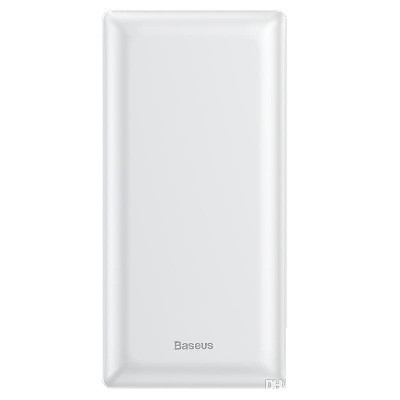 Baseus Mini JA PPJAN-C02 30000mAh Quick Charger 15W Maximum Type C Micro USB Port White Power Bank