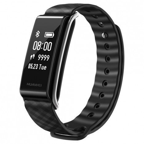 Huawei AW61 Color Band A2 Full Touch iOS+Android Bluetooth 4.2 Water & Dust Proof Black Smart Band