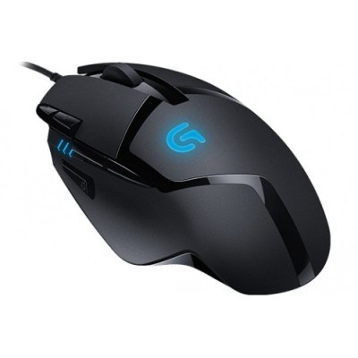 Logitech G402 Hyperion Fury 4 On the Fly Adjustable 240-4000 DPI On Board memory Profile Ultra Low Friction Feet Light Weight Materials USB Data Format 16 Bit/Axis Ultra Fast FPS Gaming USB Mouse