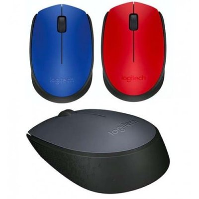 Logitech M171 33ft/10m Strong Wireless Connection Reliable Connectivity Mouse