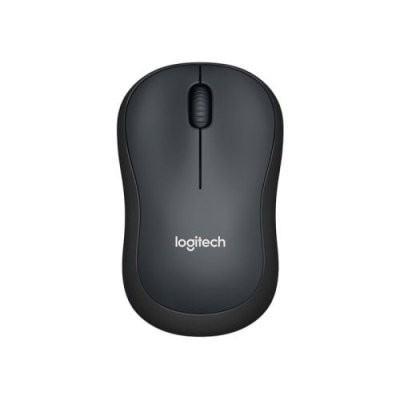 Logitech M221 Silent 33ft/10m Strong Wireless Connection Small Receiver Long Lasting Battery Auto On Off Mouse