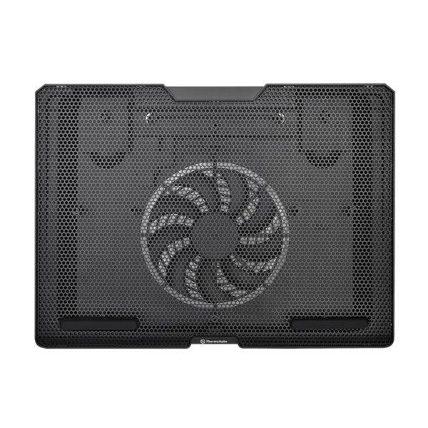 Thermaltake Massive S14 140mm 1x Silent 1000 RPM Fan Multiple Typing Angles USB Cable Management 15'' Inch Notebook Cooling Pad