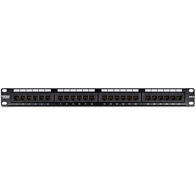 CAT6 24 Port Patch Panel (Unshielded, Loded) VCCPUF6241