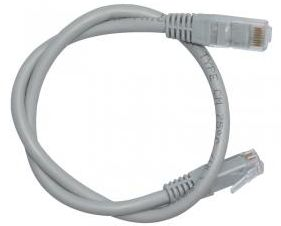 CAT6 U/UTP Patch Cord (Unshielded, Gray,Yellow,Red,Blue 0.5M) VCCCUU6RPVGA