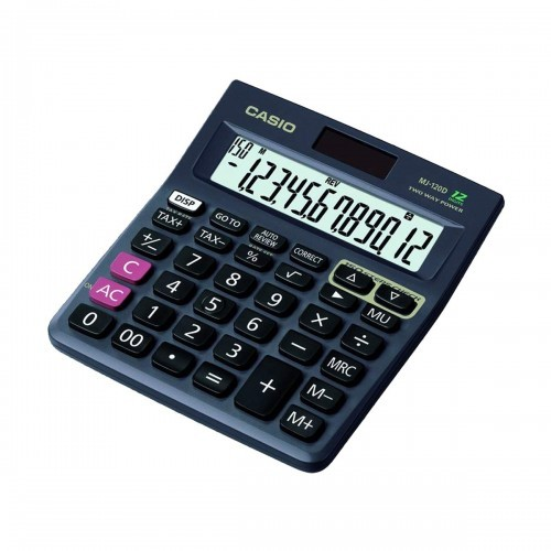 Casio MJ-120D Check & Correct 12 Digits Two Way Power Calculator