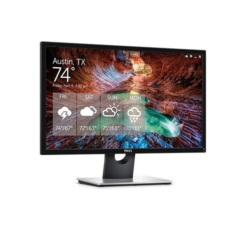 Dell SE2417HGX 24 Inch Viewable 23.6 Inch LED 1920 x 1080 Full HD 2x HDMI 1x VGA 1x Audio Line Out (Headphone Not Supported) Gaming Monitor