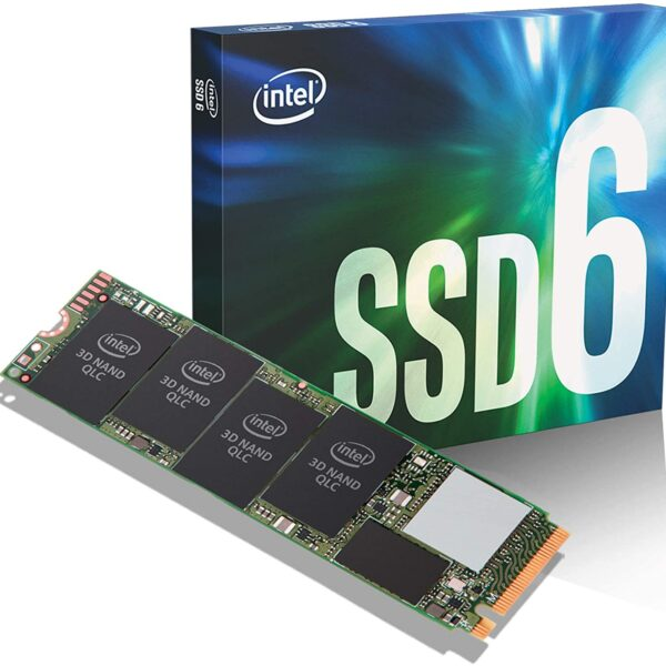 Intel 512GB SSD6 M.2 80mm PCIe 3.0 x4 Read Up to 1500 MB/s Write Up to 1000 MB/s (978349) Solid State Drive# SSDPEKNW512G8XT