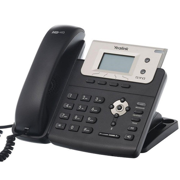 Entry Level IP Phone (with PoE) #SIP-T21P E2