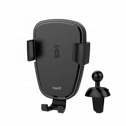 Havit Mobile Holder With wireless charging function and LED backlight H341